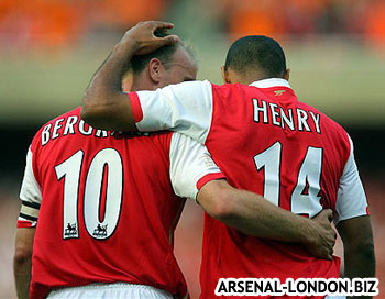Два лучших игрока Арсенала всех времен