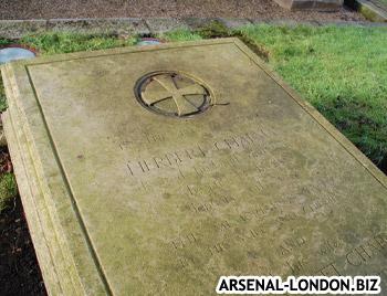 Надгробная плита Чепмена в Лондон