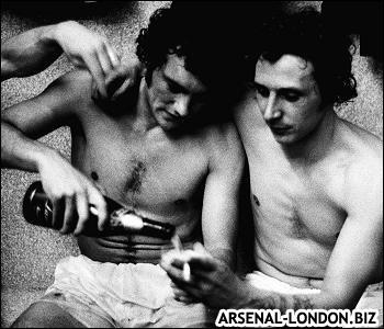 Рэдфорд и Кеннеди. Раздевалка после золотого матча Арсенала.