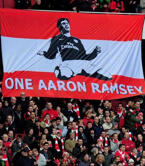 Болельщики Арсенала всегда поддерживали Рэмси