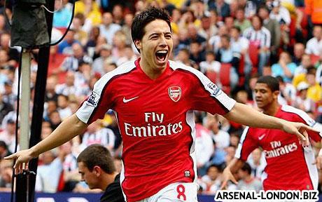 Самир Насри - лучший игрок Арсенала в ноябре