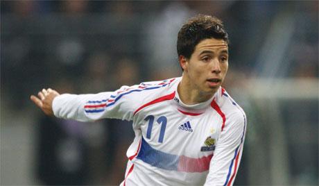 Самира начали вызывать с сборную Франции