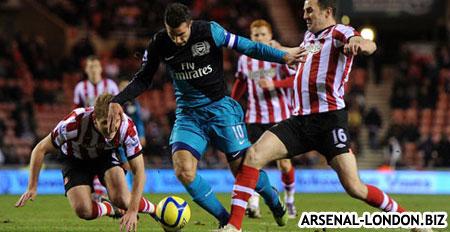 Сандерленд - Арсенал. 2:0. Канониры вылетели из Кубка Англии