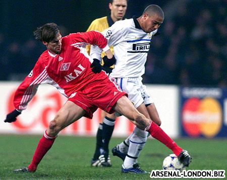 Полуфинальные матчи Спартака и Интера в Кубке УЕФА 1998-1999
