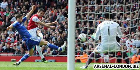 Арсенал - Челси. 0:0. Хотя все надеялись на большее