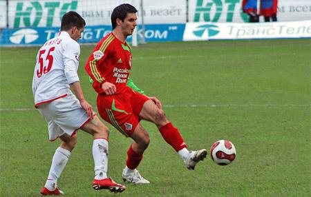 Спахич в форме Локомотива