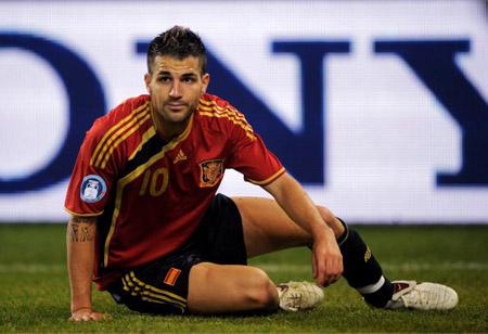 В сборной Испании Сеск пока не лидер
