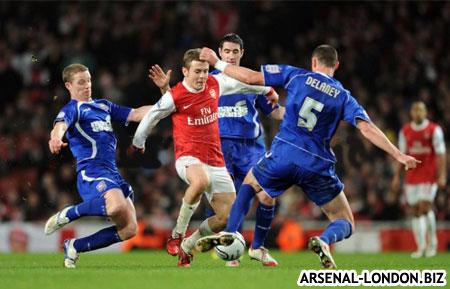 Джек Уилшир был лучшим в составе Арсенала