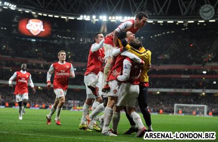Арсенал в финале Кубка Лиги