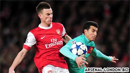 Косельни был лучшим в составе Арсенала