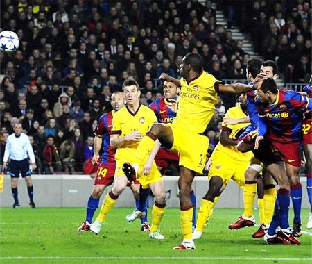 Защита Арсенала продержалась только 45 минут