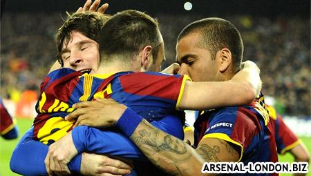 Барселона добилась своей цели а Арсенал нет