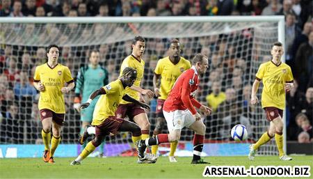 Руни забил дежурный мяч Арсеналу