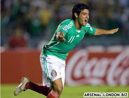 Вела в форме сборной Мексики