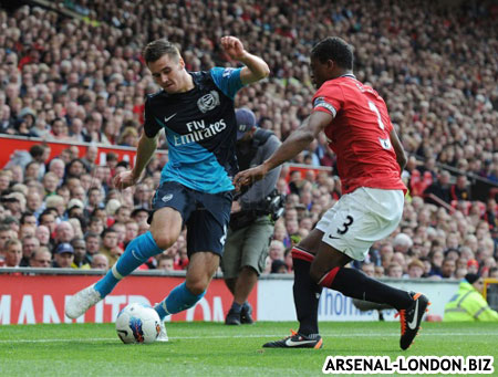 Защиты у Арсенала не было вообще