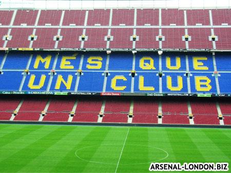 Стадион Барселоны - Камп Ноу