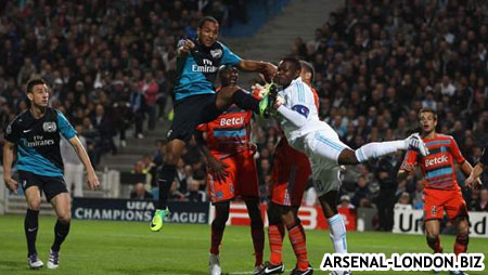 Марсель - Арсенал. 0:1