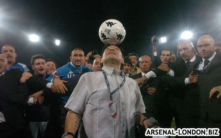 Уход Марадоны из Барселоны и его последние игры