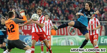Олимпиакос - Арсенал. 3:1