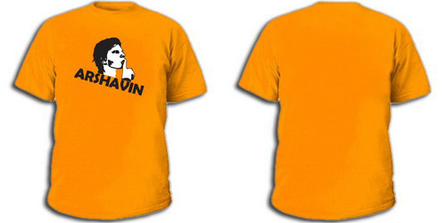 Оранжевая футболка Аршавин